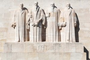 Reformation wall in Geneva, Switzerland