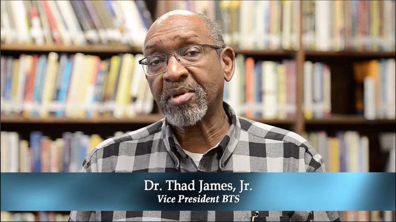 Dr. Thad James, Jr.